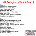 mixtape session 1 track listing